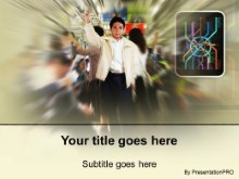 Download subway commute PowerPoint Template and other software plugins for Microsoft PowerPoint