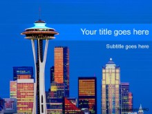 Download seattle PowerPoint Template and other software plugins for Microsoft PowerPoint