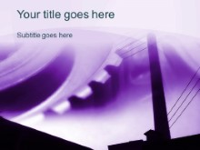 Download factory gears purple PowerPoint Template and other software plugins for Microsoft PowerPoint