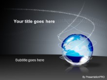Download bin globe blue PowerPoint Template and other software plugins for Microsoft PowerPoint