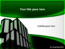 Download building green PowerPoint Template and other software plugins for Microsoft PowerPoint
