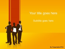Download business 01 orange PowerPoint Template and other software plugins for Microsoft PowerPoint
