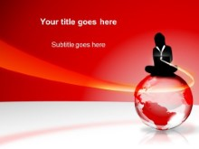 Download globe red PowerPoint Template and other software plugins for Microsoft PowerPoint