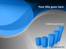Download graph blue PowerPoint Template and other software plugins for Microsoft PowerPoint