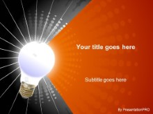 Download radial orange PowerPoint Template and other software plugins for Microsoft PowerPoint