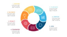 PowerPoint Infographic - Circle 7 Cycle