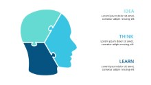 PowerPoint Infographic - Head Puzzle