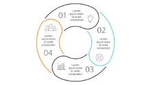 PowerPoint Infographic - Steps Circles 24