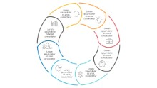 PowerPoint Infographic - Steps Circles 28