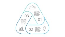 PowerPoint Infographic - Steps Triangle 29