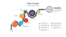 PowerPoint Infographic - Path to Goal 001