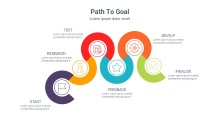 PowerPoint Infographic - Path to Goal 012