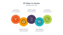 PowerPoint Infographic - Icon Steps 015