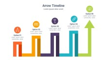 PowerPoint Infographic - Arrow Snake 030