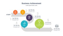 PowerPoint Infographic - Business Arrow 047