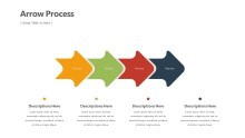 PowerPoint Infographic - Arrows Process Infographic Layout