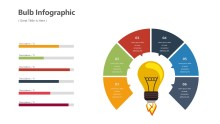 PowerPoint Infographic - Bulb Chart Infographic Layout