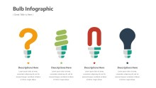 PowerPoint Infographic - Bulbs Infographic Layout