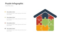 PowerPoint Infographic - Home Puzzle Infographic Layout