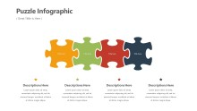 PowerPoint Infographic - Puzzle Infographic Layout