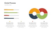 PowerPoint Infographic - Cycle Loop Process Infographic Layout