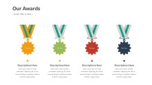 PowerPoint Infographic - Awards Infographic Layout