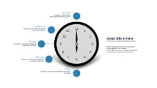 PowerPoint Infographic - Clock Infographic Infographic