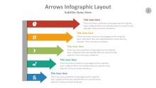 PowerPoint Infographic - Arrows 001