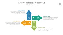 PowerPoint Infographic - Arrows 004
