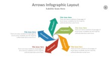 PowerPoint Infographic - Arrows 005