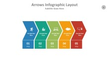 PowerPoint Infographic - Arrows 006