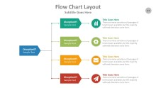 PowerPoint Infographic - Flow Chart 037
