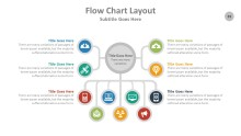 PowerPoint Infographic - Flow Chart 039