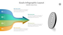 PowerPoint Infographic - Goals 031