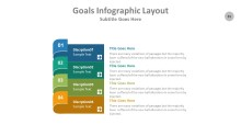 PowerPoint Infographic - Goals 035