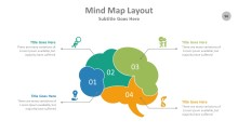 PowerPoint Infographic - Mind Map 096