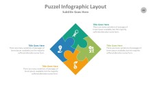 PowerPoint Infographic - Puzzle 043