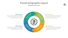 PowerPoint Infographic - Puzzle 044