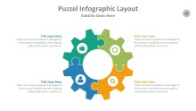 PowerPoint Infographic - Puzzle 045