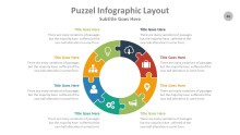 PowerPoint Infographic - Puzzle 046