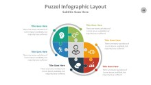PowerPoint Infographic - Puzzle 048