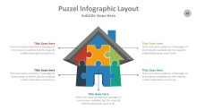 PowerPoint Infographic - Puzzle 049