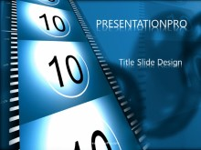 Countdown Sd PPT PowerPoint Template Background