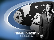 Business Map PPT PowerPoint Template Background