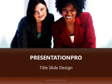Business Team Women PPT PowerPoint Template Background
