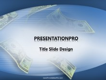 Falling Bills PPT PowerPoint Template Background