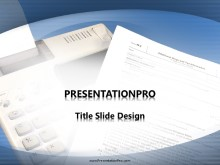 Tax Time PPT PowerPoint Template Background