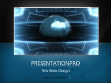Global 0007 PPT PowerPoint Template Background