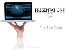 Global Laptop PPT PowerPoint Template Background
