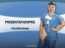 Medical Nurse PPT PowerPoint Template Background